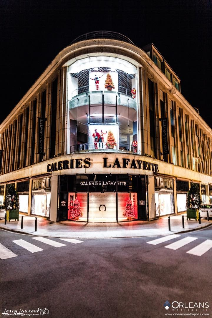 Galeries Lafayette Orléanshop by Night
