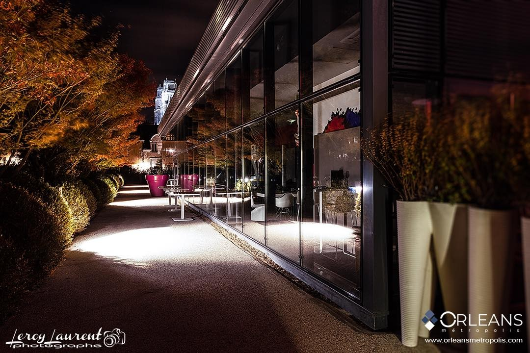 Restaurant Le Lift Orléans by Night