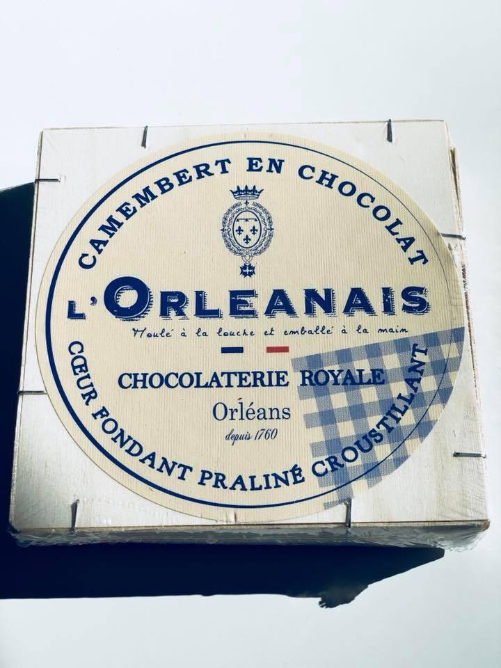 L'Orléanais Camembert en chocolat