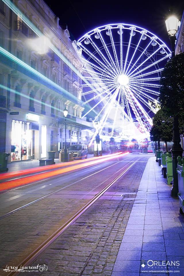 Grande Roue rue de la République Orléans