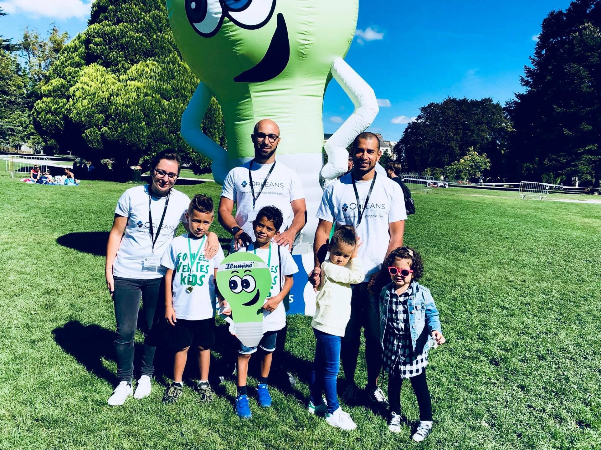 Les Foulées vertes Kids au Parc Pasteur d'Orléans