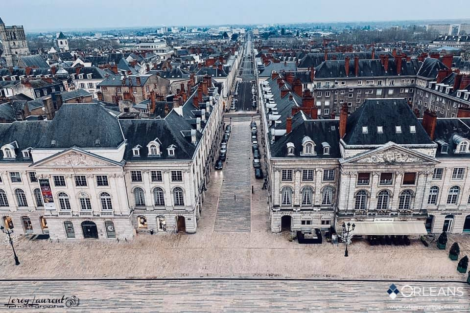 Place du Martroi & Rue Royale Orléans