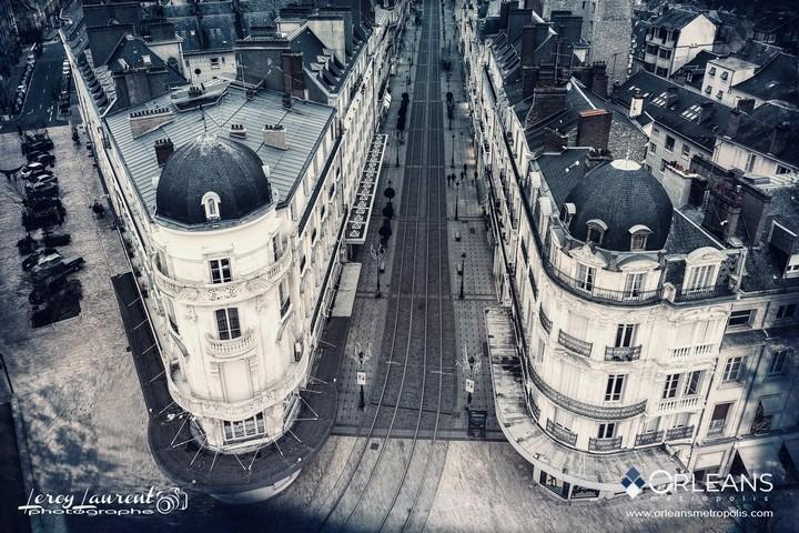 Entrée rue de la République Orléans