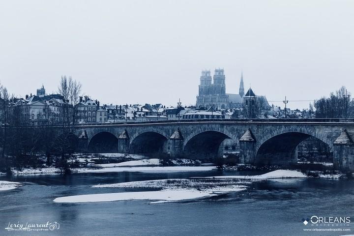 Cathédrale Orléans & Pont GEORGES 5
