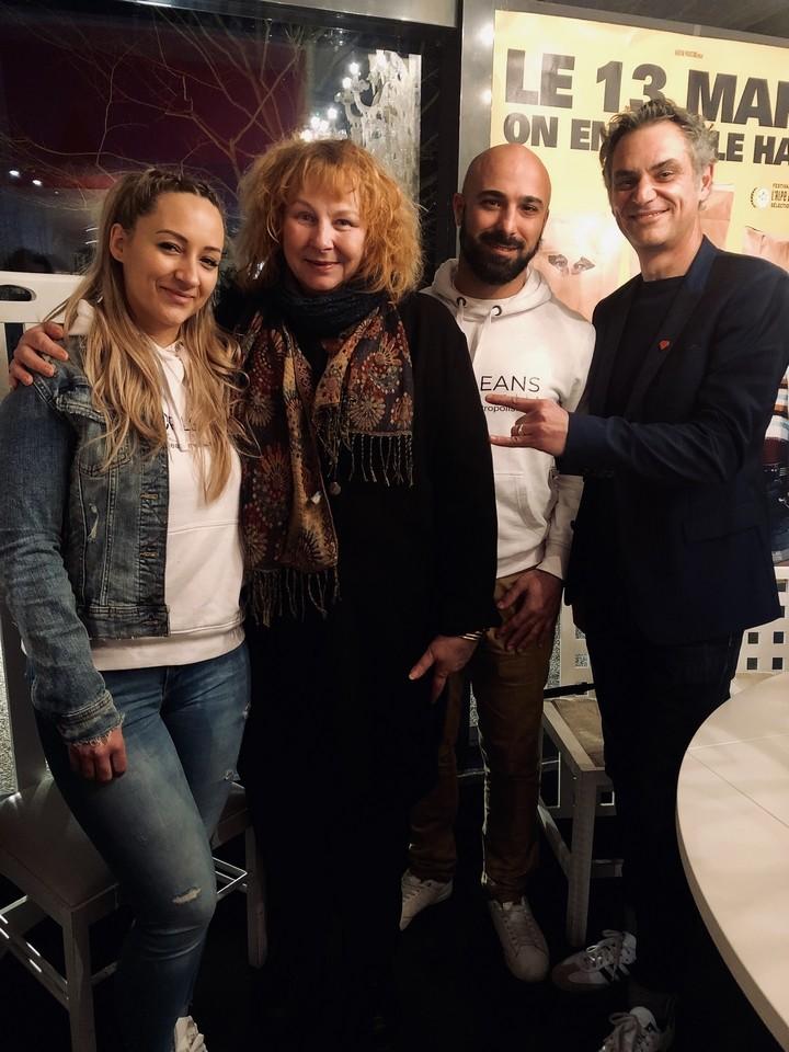 Rencontre avec Yolande Moreau films Rebelles