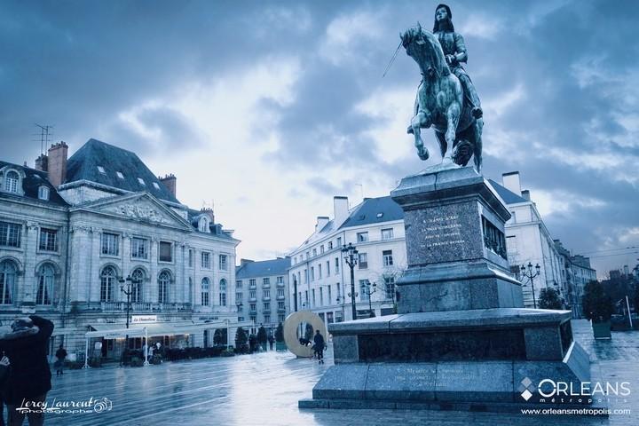Historique statue de Jeanne d'arc