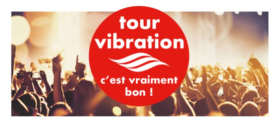 Tour Vibration 2018 : concert gratuit à Orléans !