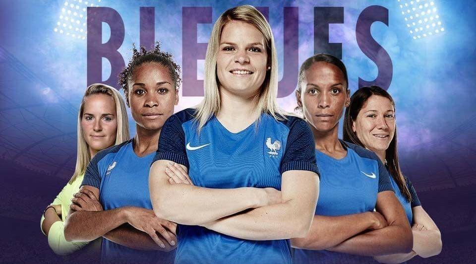 L'Equipe de France Féminine de Football à Orléans!