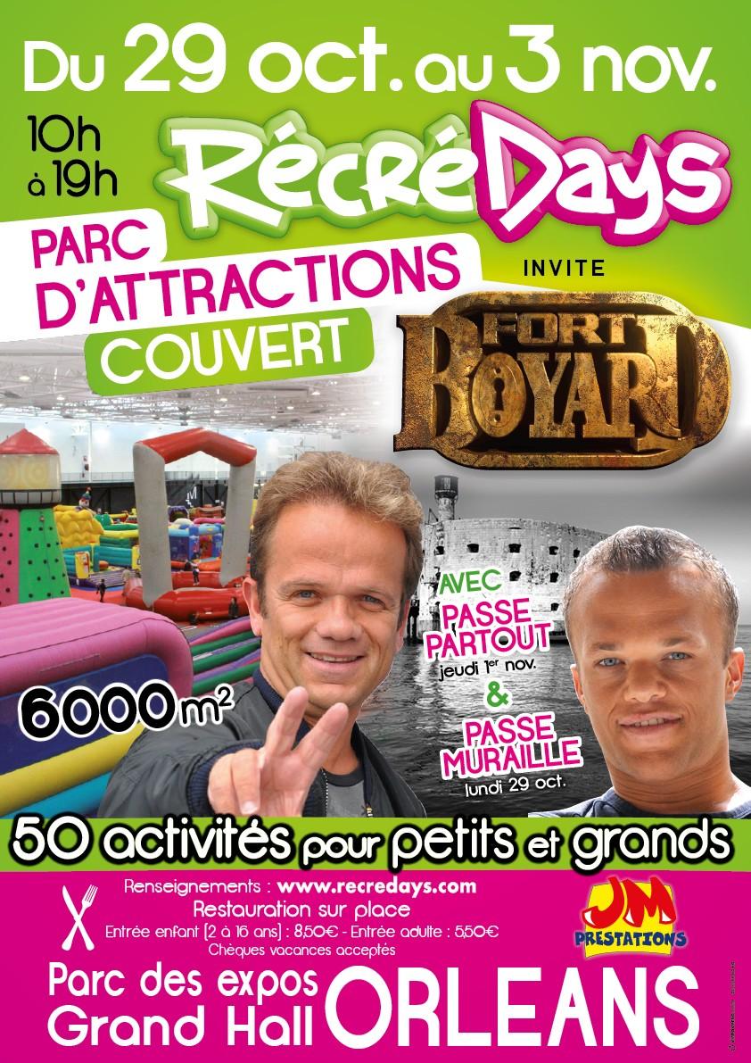 Maxi Récré Days spécial Fort Boyard