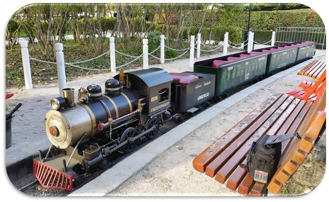 Petit train de Wichita au Parc Pasteur