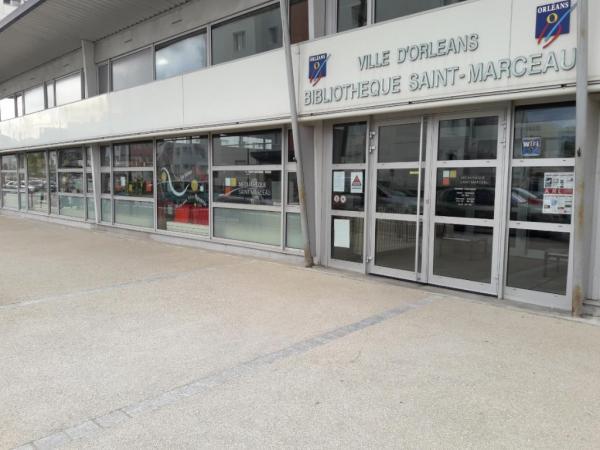 Médiathèque saint-marceau